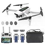 HUBSAN Zino 2+ GPS FPV Drone Plegable 9KM 35 Minutos 4K 60FPS Cámara Cardán...