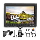 Neewer F100 7' 1280x800 IPS Pantalla Monitor de Campo de Cámara Soporte 4k...