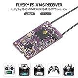 Leeofty FS-X14S Receptor 2.4Ghz 14CH PPM S.Bus Salidas de señal para FS-I6 NV14...
