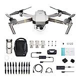 DJI Mavic Pro Platinum Fly More Combo - Dron Quadricóptero, Nivel de Ruido 4...
